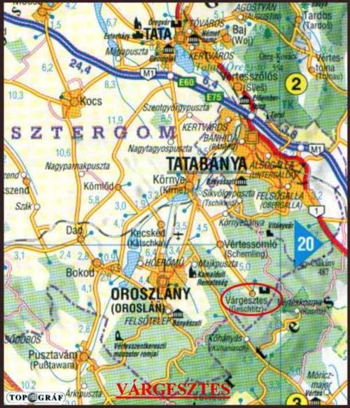 várgesztes térkép Gesztes.hu: május 2013 várgesztes térkép