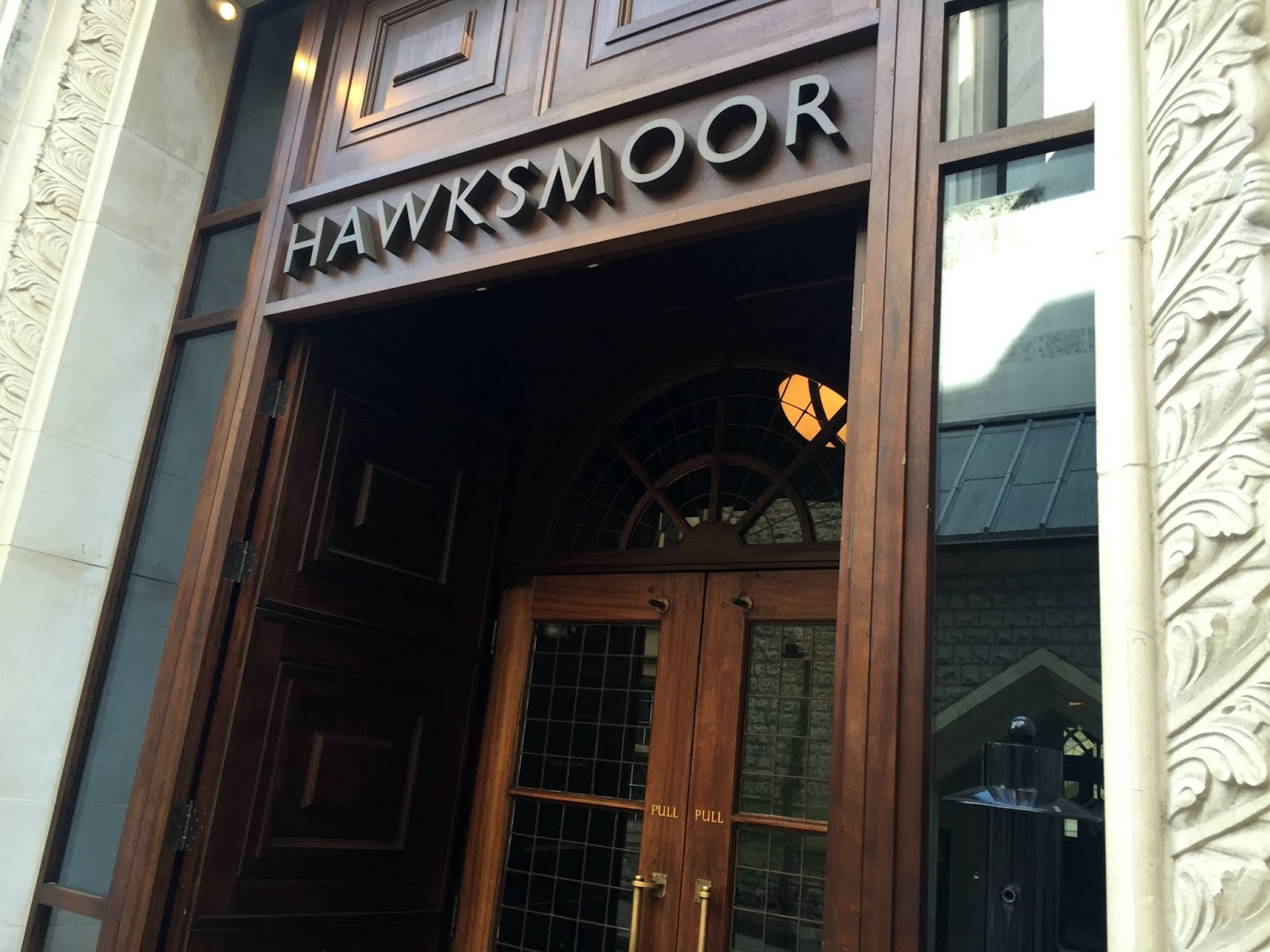 Entrance to Hawksmoor