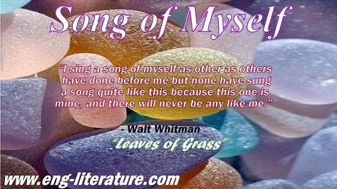 walt whitman song of myself full text