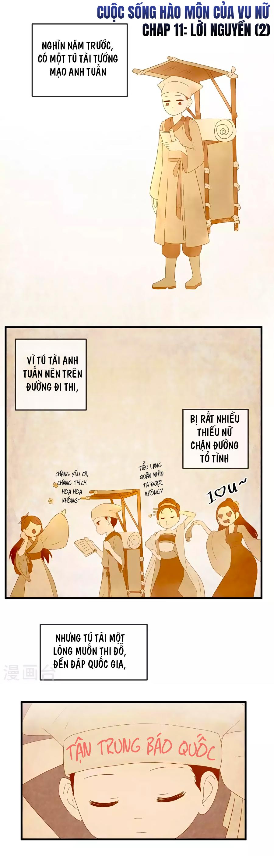 Cuộc Sống Hào Môn Của Vu Nữ - Chap 11