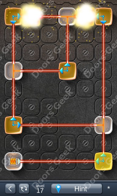 Solution for Laser Box - Puzzle (Basic) Level 17