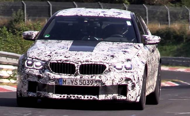 2018 bmw F90 M5 With Wheel Drive