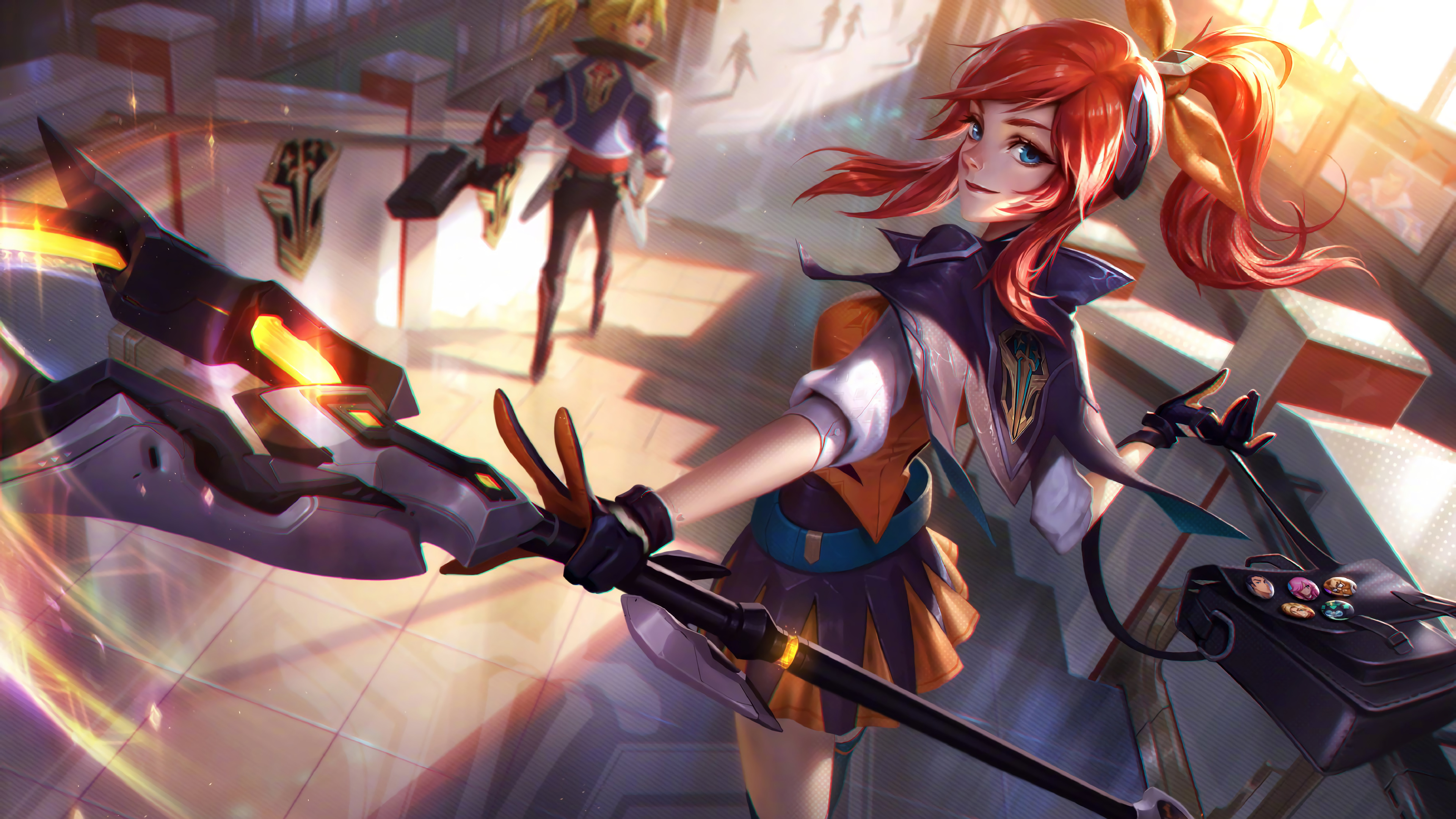 Battle Academia Lux Splash Art Lol 4k Wallpaper 79