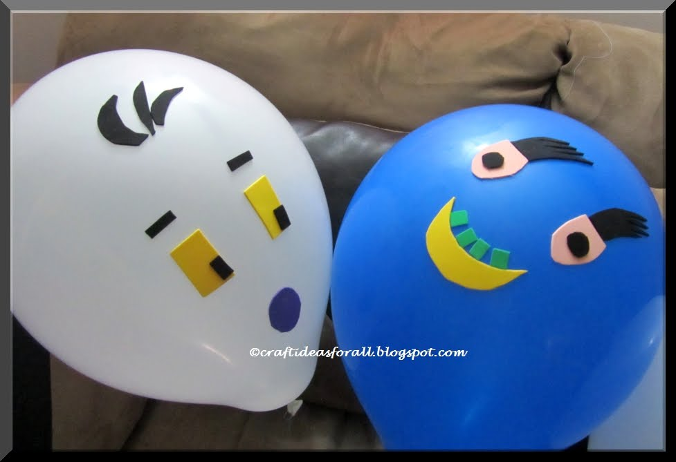 Craft Ideas For All Fun Balloon Critters Craft For Kids