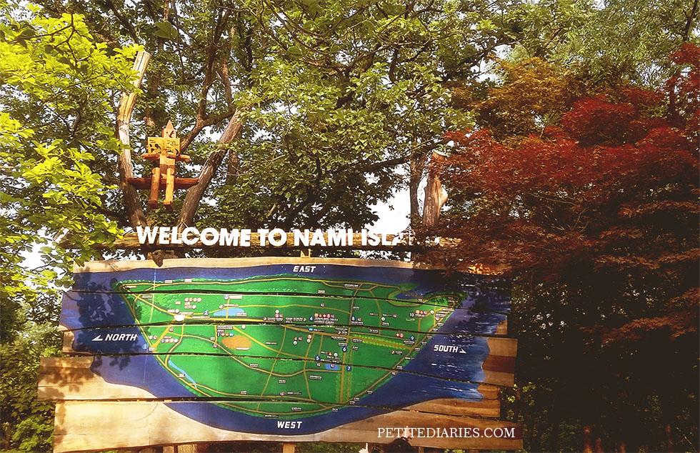 travel nami island