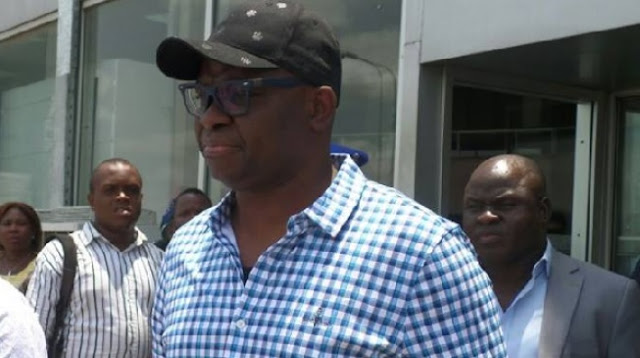 Fayose begs n'assembly for protection, says Buhari has asked DSS to cage him
