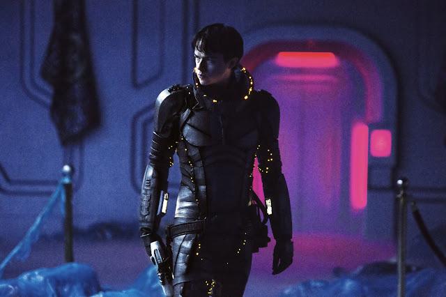 Imagen de la película de ciencia ficción Valerian y la ciudad de los mil planetas