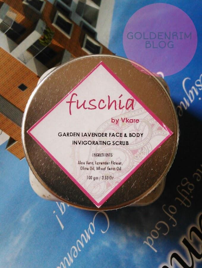 Fuschia Garden Lavender face and body invigorating scrub Review