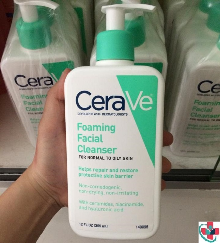 Product Review: CeraVe Foaming Facial Cleanser
