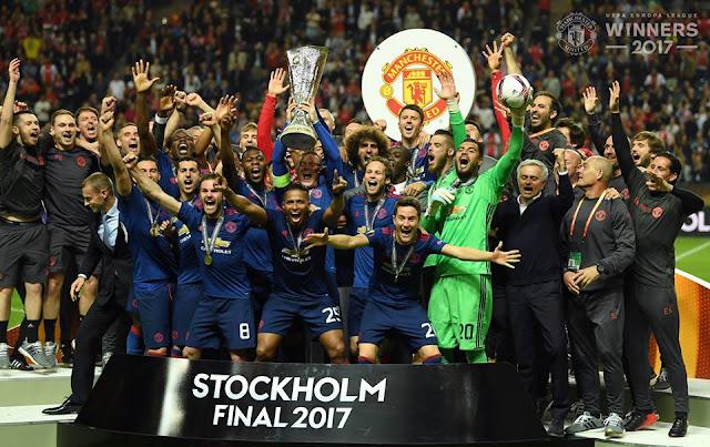 Manchester United menjadi Juara Liga Europa 2016-2017 setelah menang 2-0 atas Ajax Amsterdam