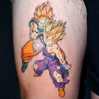 Tatuaje Dragon Ball