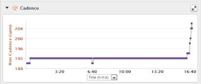 Garmin Foot Pod Cadence Chart