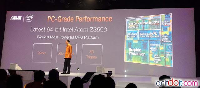 teknologi terbaru dari Intel Atom Z3590