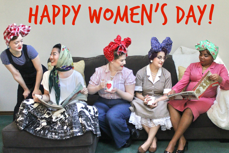 Flashback Summer: Happy International Women's Day
