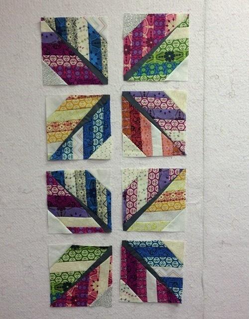 Leaf (feather) Quilt Block - Tutorial