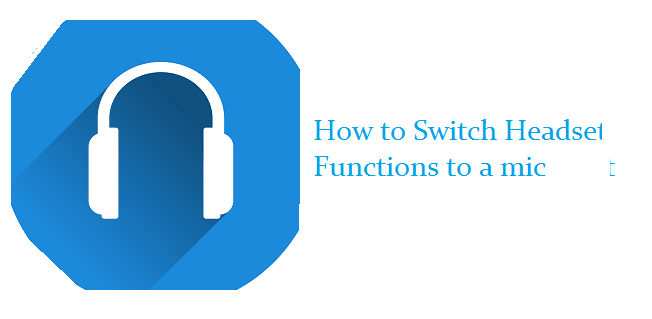 fungsi mic pada headset memang tak begitu diperhatikan Tutorial Membuat Headset Jadi Mic di Laptop / PC [Lengkap + Gambar]