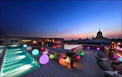 Sky Bar del Axel Hotel Madrid