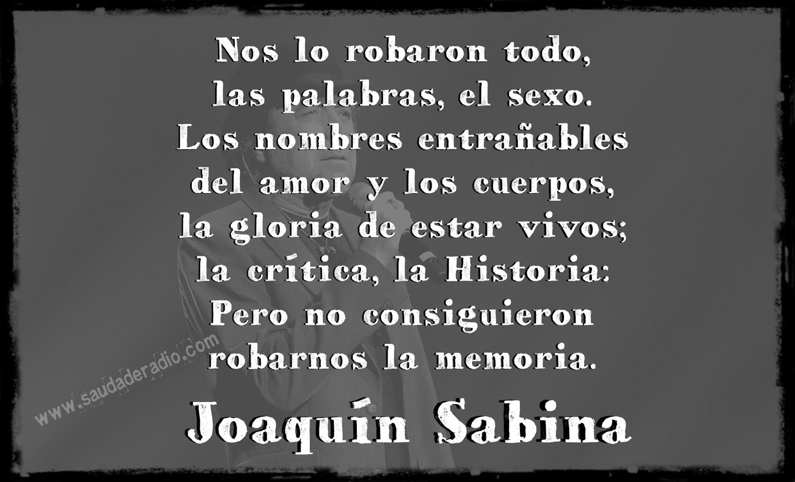 Palabras Como Cuerpos Joaquin Sabina
