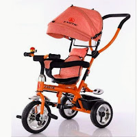 exotic et1259 stroller tricycle