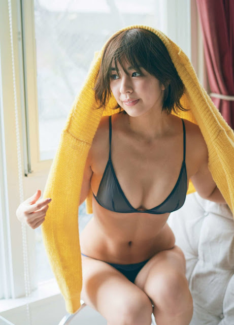 Yurina Yanagi 柳ゆり菜 FRIDAY December 2017 Images