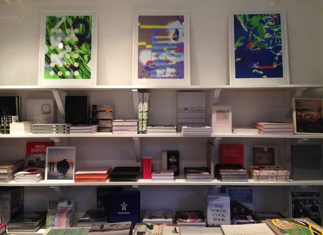 Cinnober art and design bookshop in Copenhagen