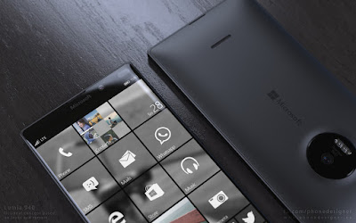 The Microsoft Lumia 940 specification : RAM is 3 GB, camera 25 MP, and elegant design