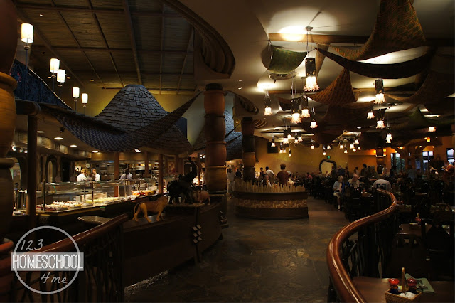 Boma is one of Disney World best restaurants for it's all you can eat, mouth watering African food.