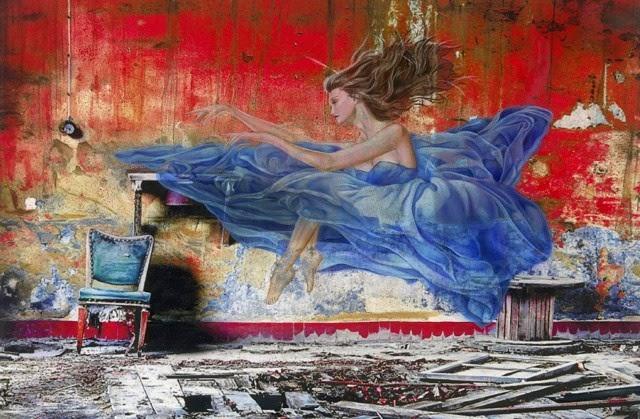 Американский художник. Adam Scott Rote