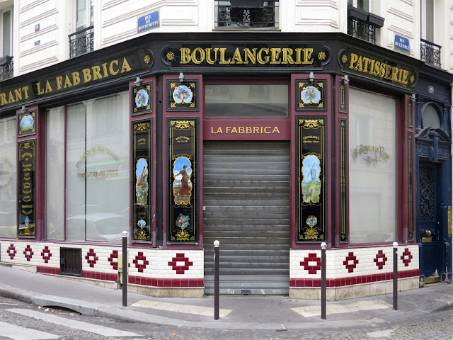 Restaurant La Fabbrica, The Factory, rue de l'Etoile, Paris