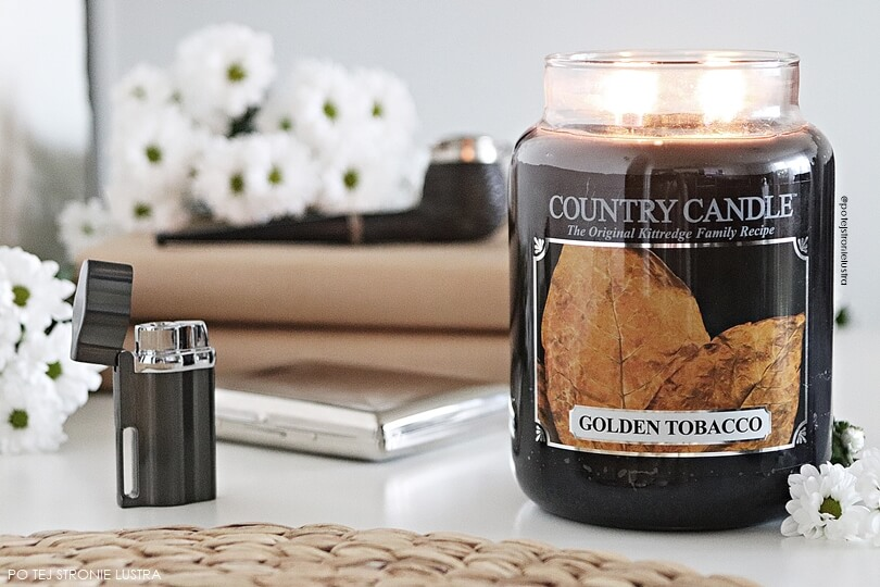 świeca country candle golden tobacco recenzja