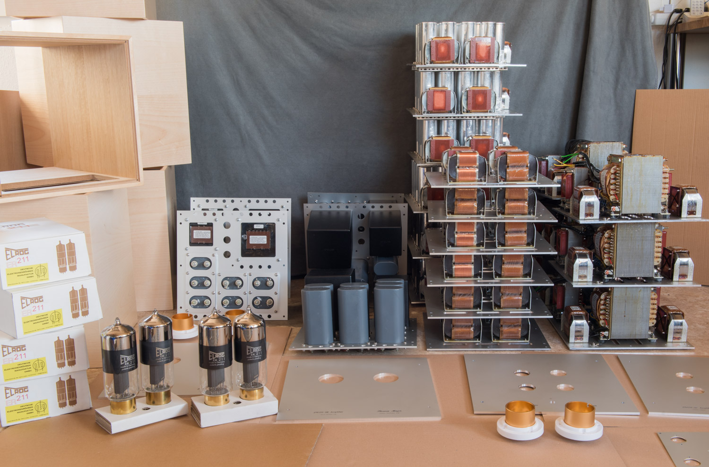 VinylSavor: SE 211 Amplifier Production