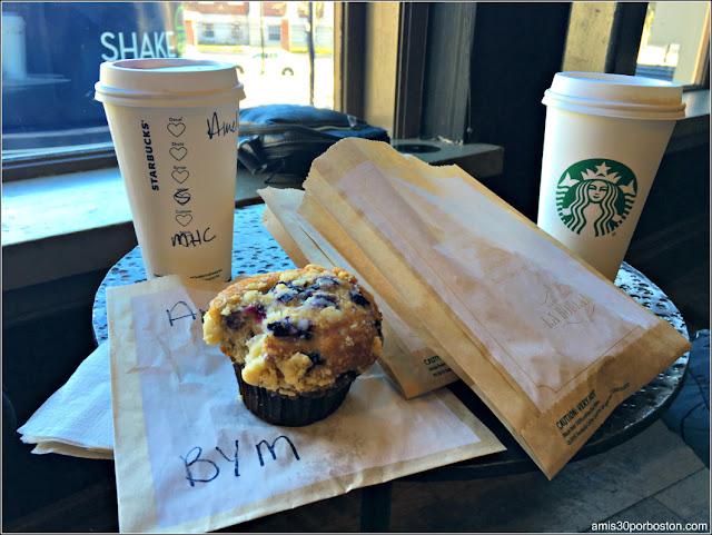 Desayuno en Harvard Square