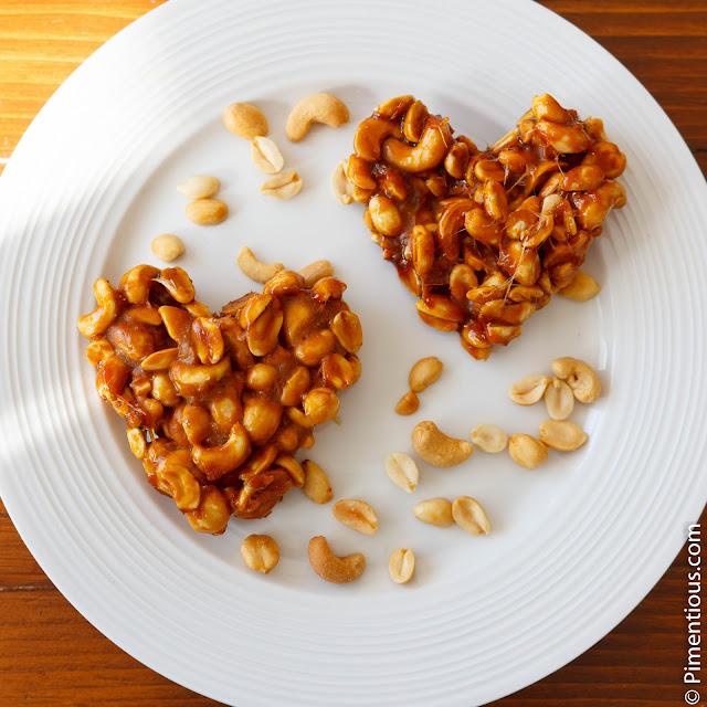 Ampyang Jahe, peanut brittle