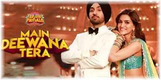 Main Deewana Tera - Arjun Patiala Lyrics Image