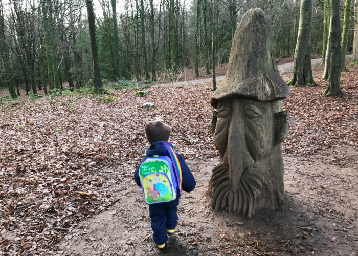 Squidge at Forest Fawr