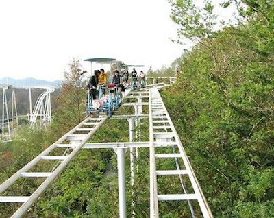 SkyCycle do Washuzan Highland Amusement Park