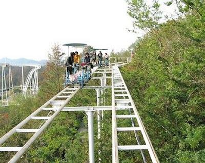 SkyCycle do Washuzan Highland Amusement Park