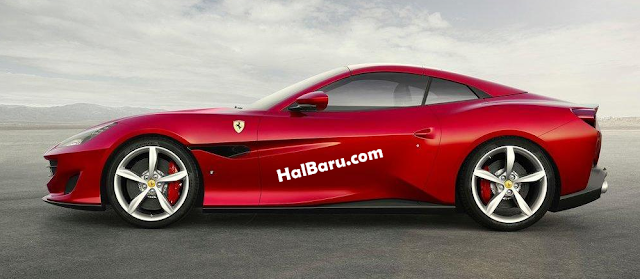 Mobil Ferrari Portofino (2018) Body Sporty