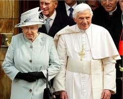 Queen Elizabeth controls and has amended U.S. Social Security, as follows:  Pope+and+queen