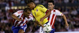 Colombia vs Paraguay en Eliminatoria Sudamericanas 2017