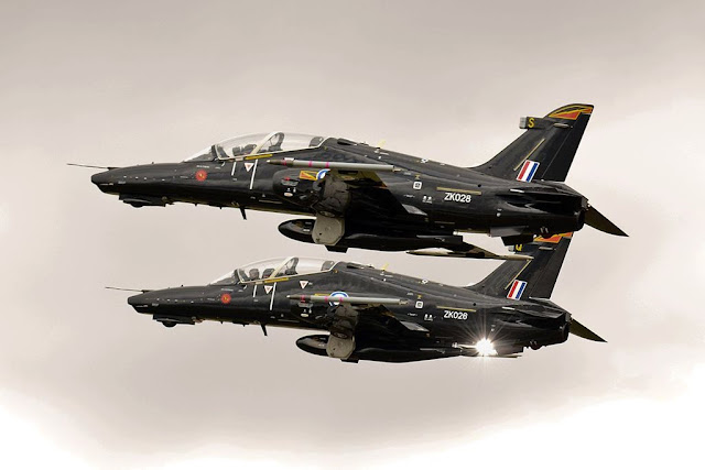 RAF Hawk hot weather trials