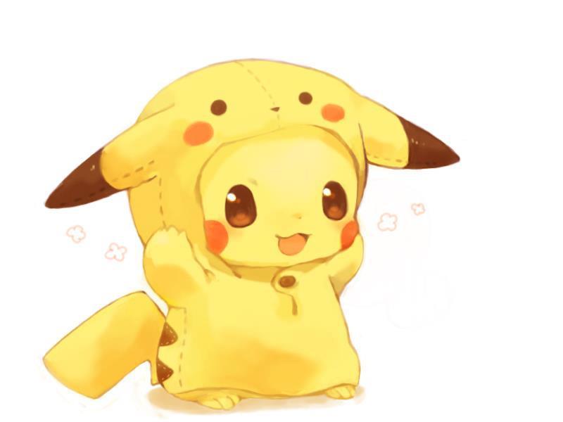 Cutest Pikachu Drawing   Reks Yong