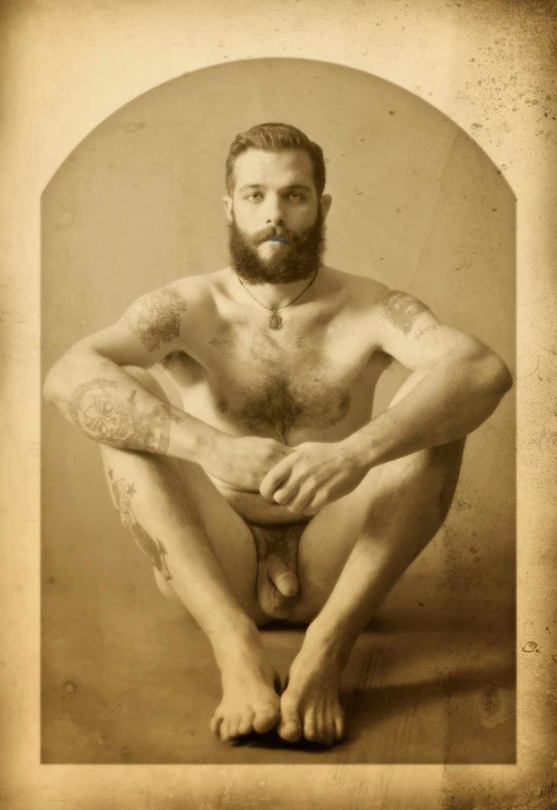 Vintage nude male actors naked