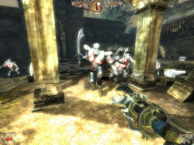 Screen Shot Of Painkiller Recurring Evil (2012) Full PC Game Free Download At worldofree.co
