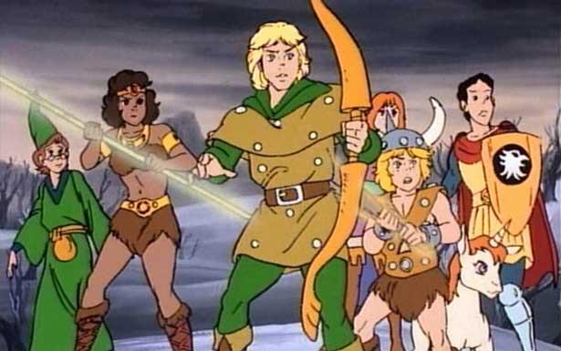 """Algumas curiosidades sobre """"Caverna do Dragão""""(Nostalgia Geek  #5)"""
