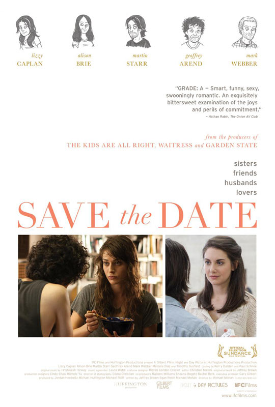 Save the Date (2012) - Poster