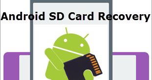 how to get back lost files from sd card