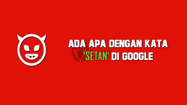 setan di google