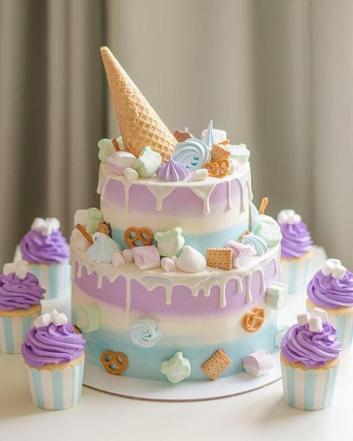 bánh sinh nhật đẹp và ấn tượng