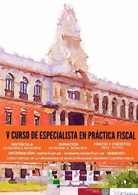 V Curso de especialista en práctica fiscal